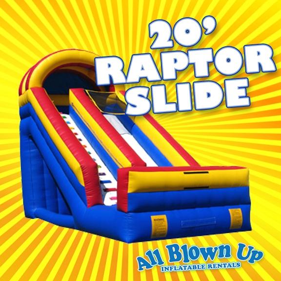 20' Raptor Slide