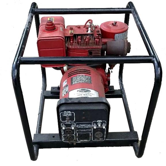 Evansville, Indiana generator rental