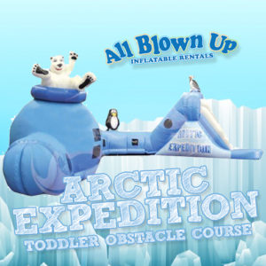 Arctic Expedition Toddler Obstacle Course