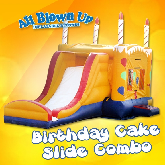 Birthday Cake Slide Combo