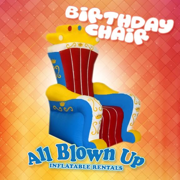 Birthday Chair