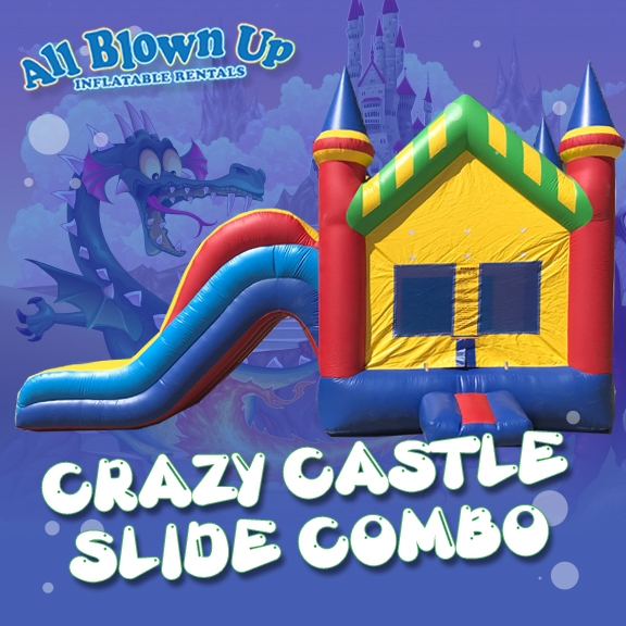 Crazy Castle Slide Combo