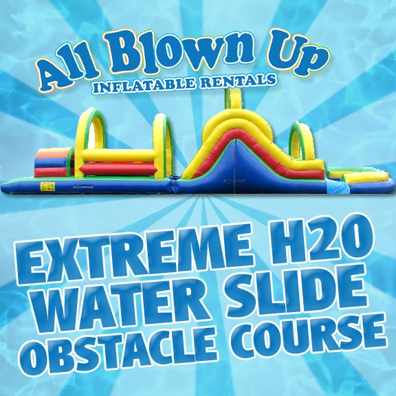 Extreme H2O Water Slide Obstacle Course