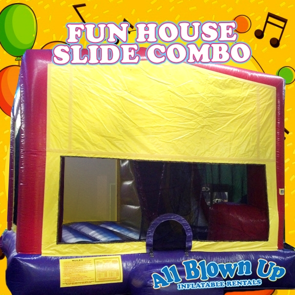 Fun House Slide Combo