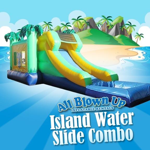 Island Water Slide Combo