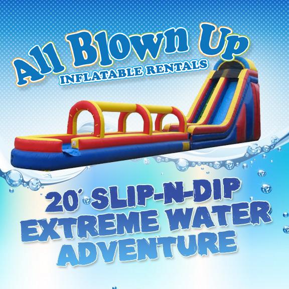 20' Slip-N-Dip Extreme Water Adventure