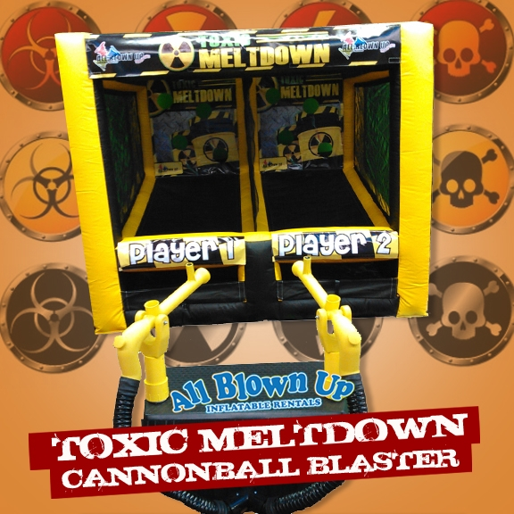 Toxic Meltdown Cannonball Blaster
