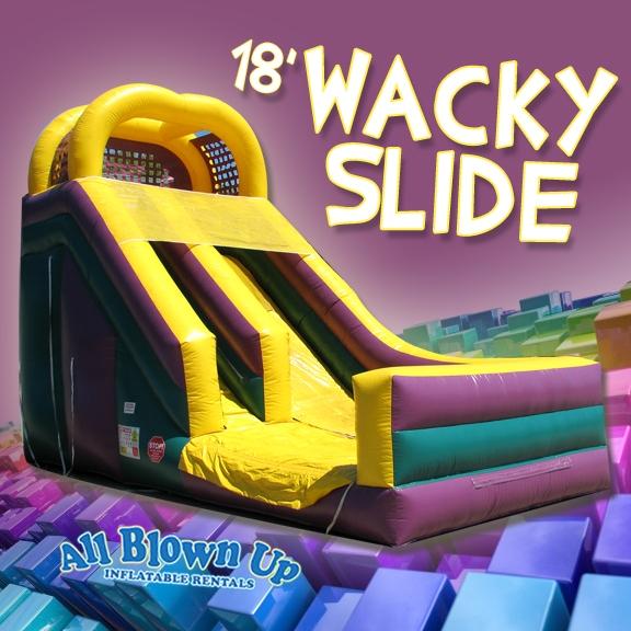 18' Wacky Slide