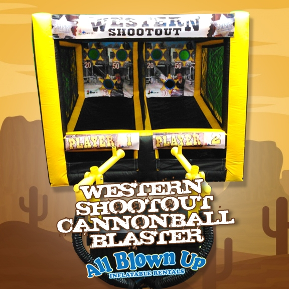 Western Shootout Cannonball Blaster