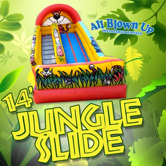 14' Jungle Slide