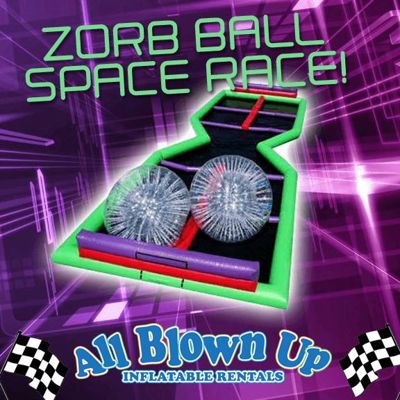 Zorb Ball Space Race