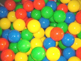 500+ Inflatable Bouncer Pit Balls  -  Rental Price: $15 -$35