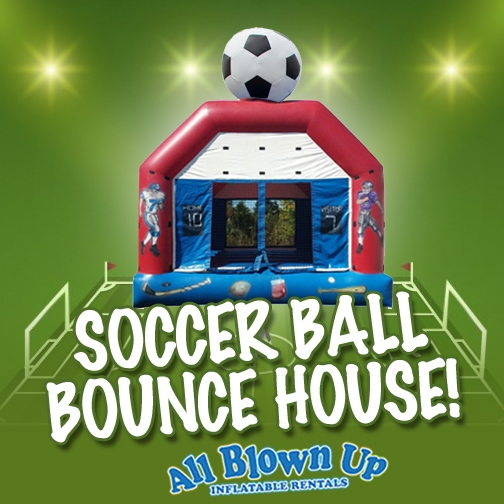 Birthday Party Places Evansville Owensboro Soccer Ball Bounce House