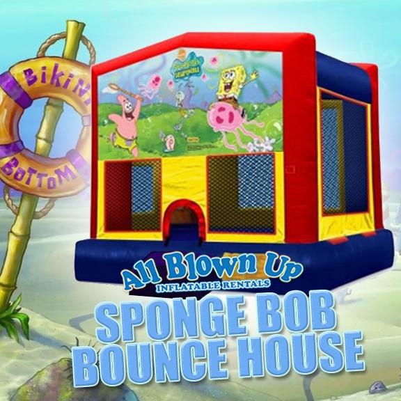 Sponge Bob Module Bounce House