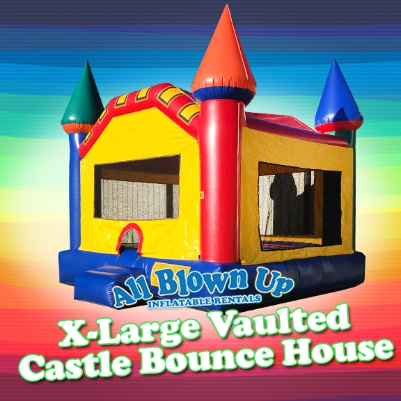 X Large Vaulted Castle Bounce House