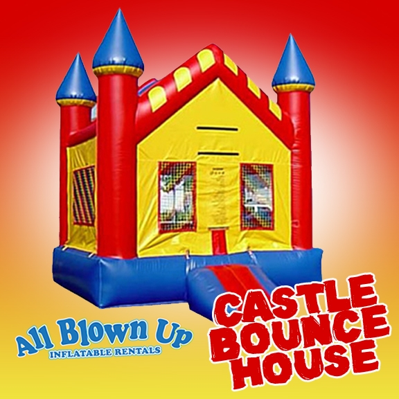 Evansville, IN & Owensboro, KY area kids birthday party Castle Bounce House