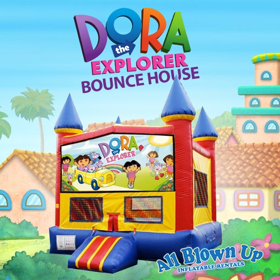 Birthday Party Places Evansville Owensboro Dora Module Bounce House