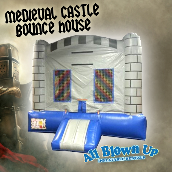 Evansville, IN & Owensboro, KY area kids birthday party Medieval Castle Bounce House