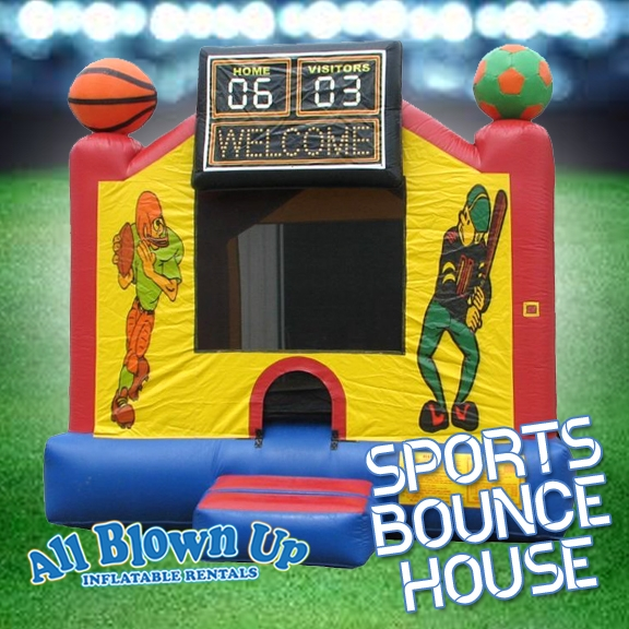 Evansville, IN & Owensboro, KY area kids birthday party Sports Bounce House