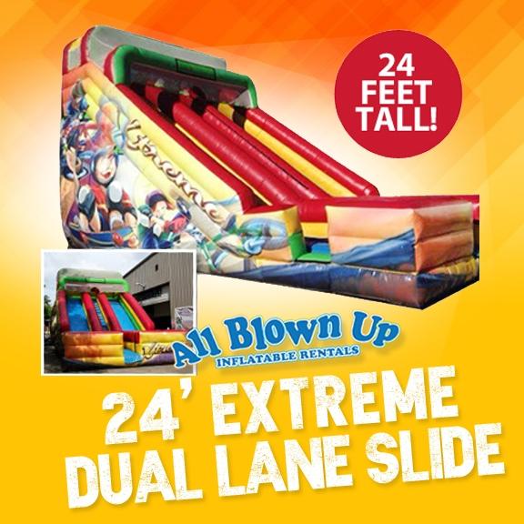 24' Extreme Dual Lane Slide