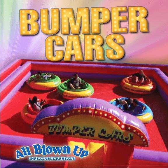 Bumper Cars, inflatable bumper cars, bumper, kids bumper cars