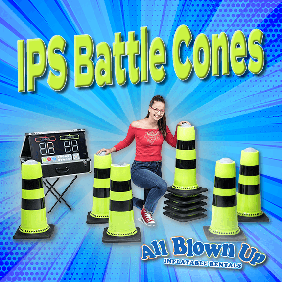 Interactive Play System Battle Cones