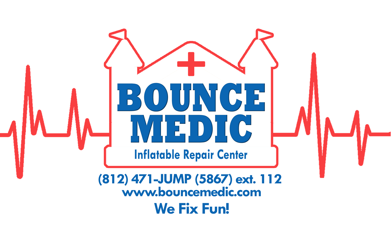 bounce medic inflatable repair emergency on-site 24 hours day
