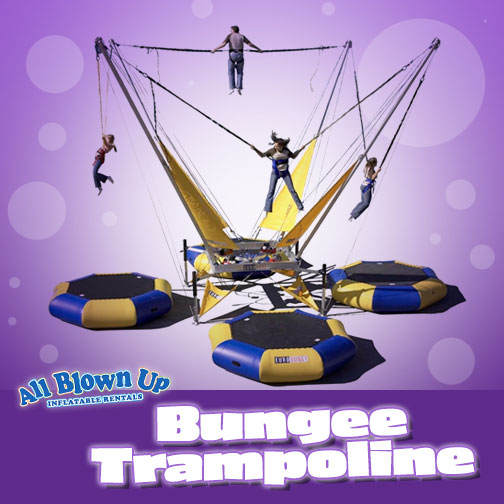 Bungee Trampoline Rental Indiana Kentucky Illinois