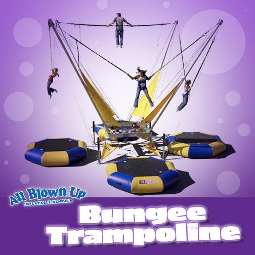 Bungee Trampoline Rental Indiana Kentucky Illinois
