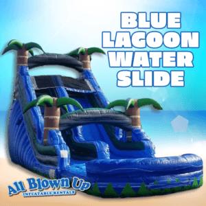 Blue Lagoon Water Slide, Blue Lagoon, Water Slide, water fun, summer fun, blue lagoon, slide fun, wet slide