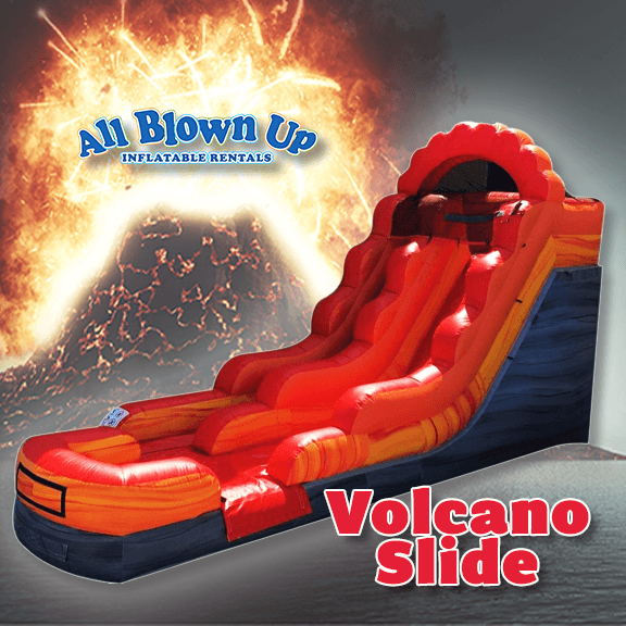 Volcano Slide, slide, slide fun, outdoor fun, sunshine fun, outdoor slide, indoor slide, winter slide, spring slide