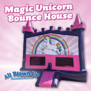 inflatable, brinka brinka, jump, castle, butterfly, flower, power, girls, pink, blue, purple, yellow, unicorn, queen, king, knight