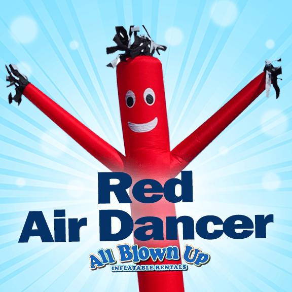red air dancer, sky dancer