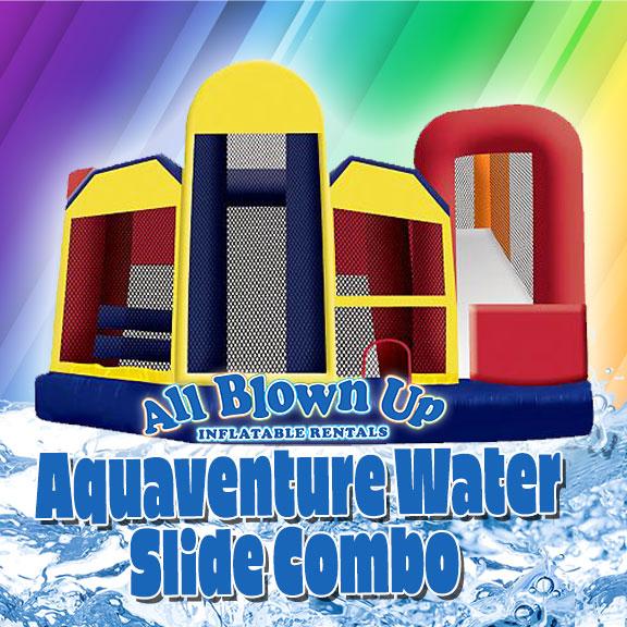 Aquaventure Water Slide Combo, slide combo, water slide combo