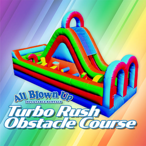 turbo rush obstacle course, obstacle course, obstacle, turbo, fun, run, sun, climb, slide, summer fun