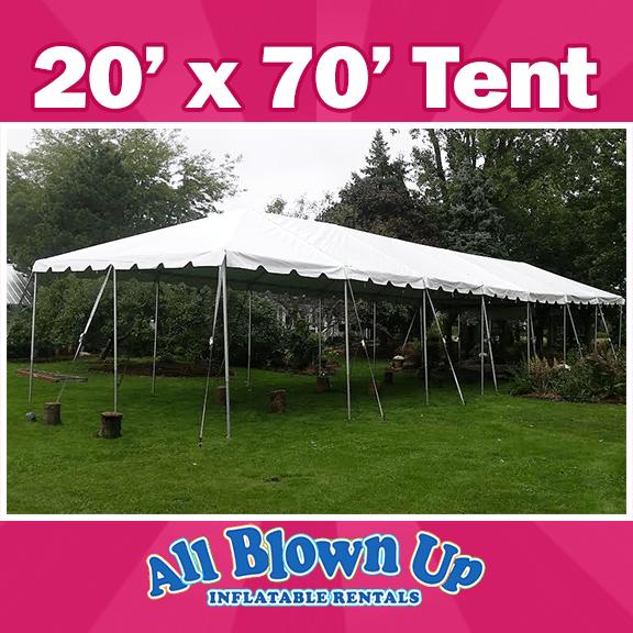 Tent rental, 20x70 tent, Rental Tent
