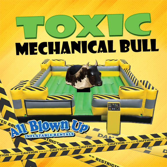 toxic mechanical bull, mechanical bull, mechanical bull rental, bull rental, indoor bull rental