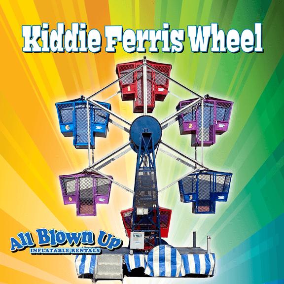 kiddie ferris wheel, ferris wheel, festival, fair, circus, amusement, amusement ride, ride, party, picnic, spin, twist, twirl, rotate, carnival ride, carnival rides, carnival ride rental, amusement ride rental, carnival