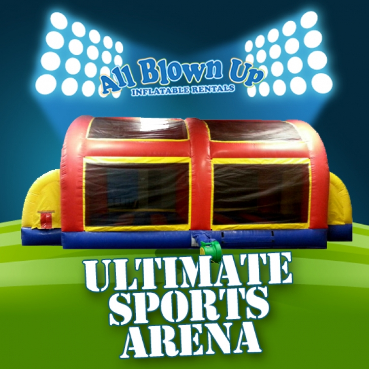 Ultimate Sports Arena All Blown Up Inflatables