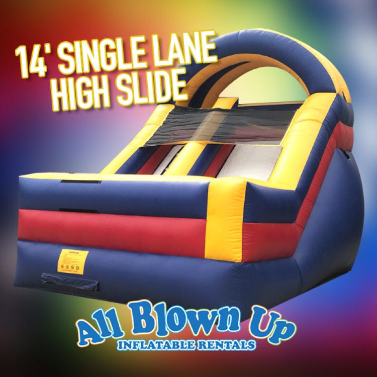 14' Single Lane High Slide