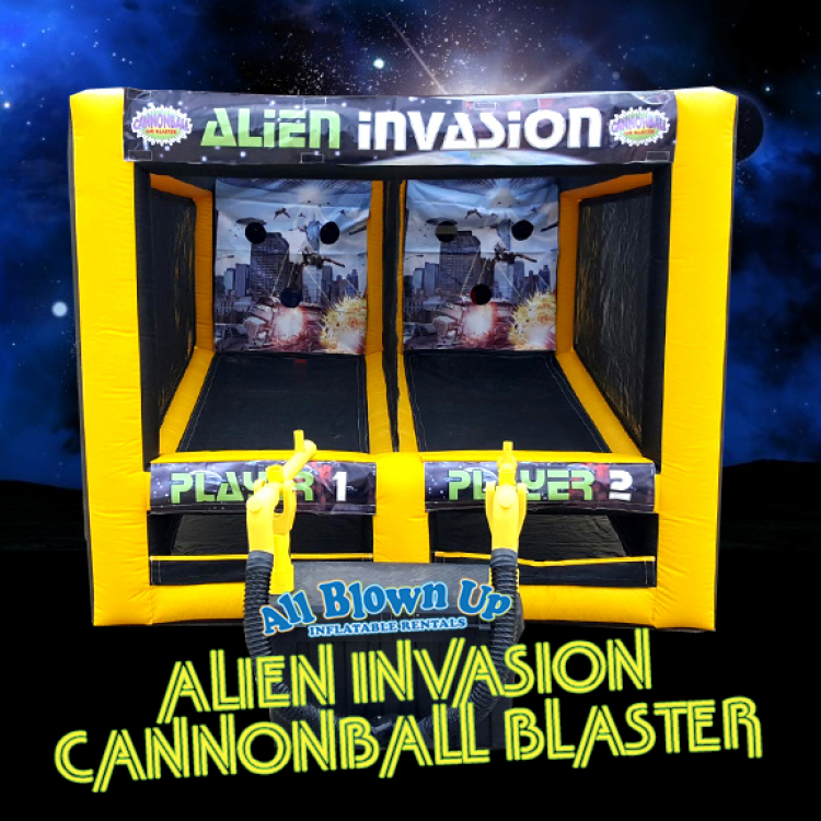 Alien Invasion Cannonball Blaster