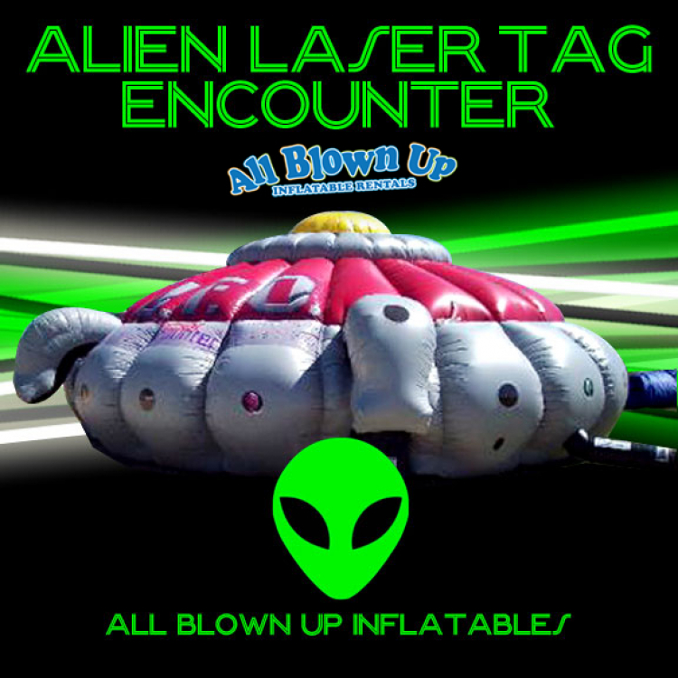 Alien Laser Tag Encounter (6 phasers)