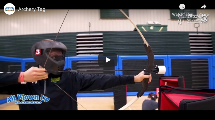 Archery Tag, it's a hit, archery, tag, helmet, game, indoor archery tag, outdoor archery tag, indoor, outdoor