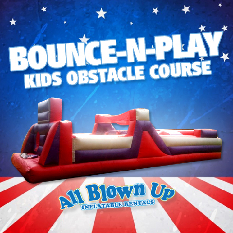 Bounce-N-Play Kids Obstacle Course