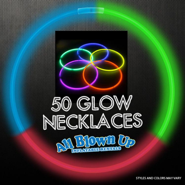 50 Glow Necklaces