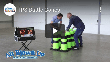 Interactive Play Systems Battle Cones, battle cones, ips battle cones, ips, interactive