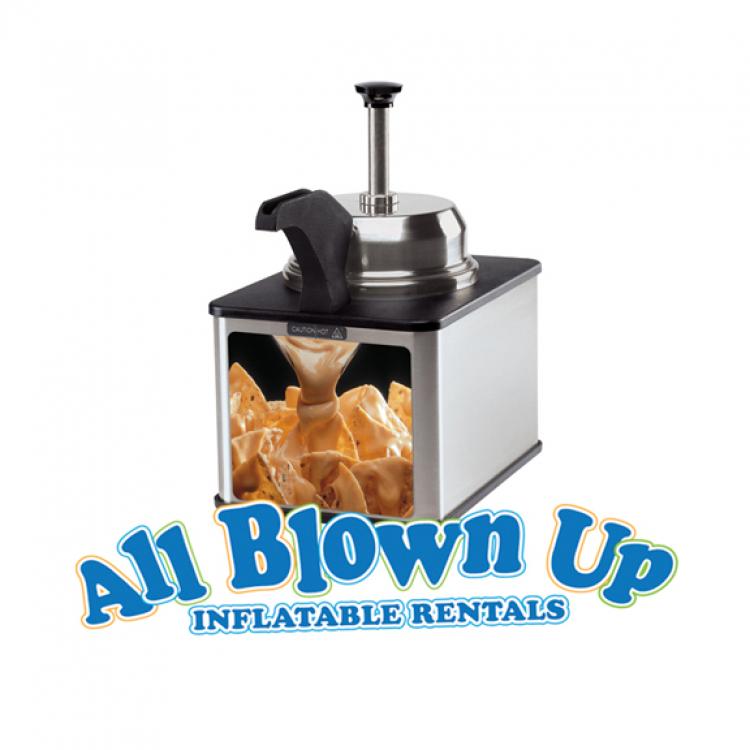 Nacho Cheese Warmer with Pump