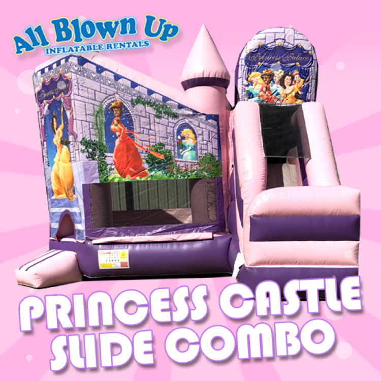 Princess Castle Slide Combo