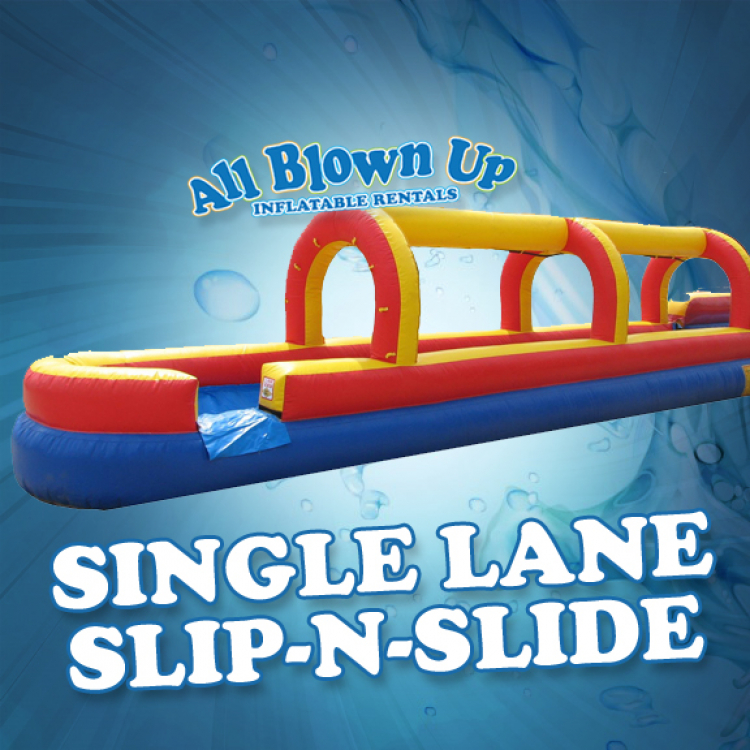 Single Lane Slip-N-Slide