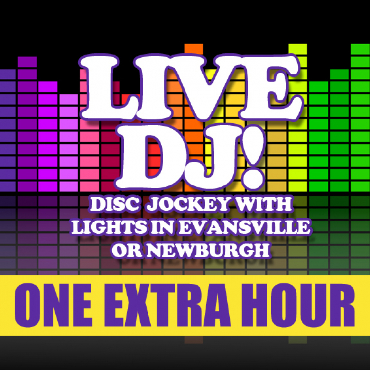 One Additional Hour DJ Service